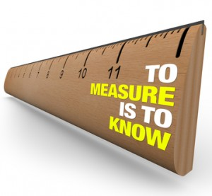 A wooden ruler with the words To Measure is to Know, symbolizing the importance of gathering information when attempting to learn the nature of an object or iss